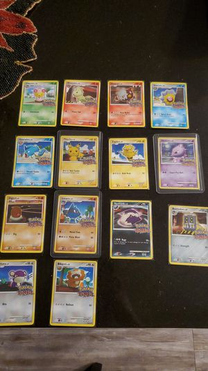 Pokemon Rumble Cards 14/16 Missing Venusaur and Mew, Otherwise Complete Set for Sale in Avondale, AZ