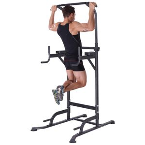 K KiNGKANG Power Tower Home Gym Adjustable Height Pull Up Bar Fitness Equipment Multi-Function Work Out Equipment for Sale in Frostproof, FL