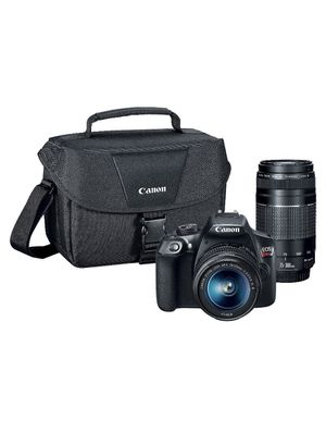 CANON DSLR EOS T6 2LENS KIT BUNDLE for Sale in Aloma, FL