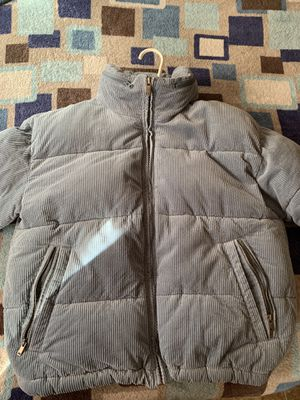 American Eagle blue Corduroy Bomber Jacket for Sale in The Bronx, NY