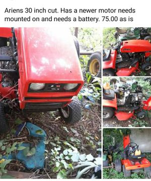 Ariens lawn tractor needs motor bolted down for Sale in Manito, IL