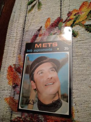 New York Mets 1971 Topps Baseball Cards for Sale in Port Richey, FL