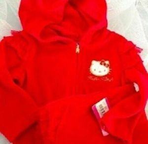 Hello Kitty Infant Velour 2 Piece Set 6-9 Months for Sale in Winter Garden, FL