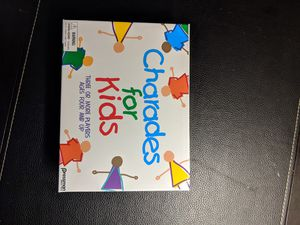 Charades for kids game for Sale in Redmond, WA