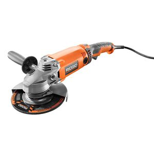 RIDGID 15 Amp Corded 7 in. Twist Handle Angle Grinder for Sale in Temple, GA