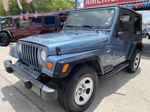 🔥1998 JEEP WRANGLER 🔥 for Sale in Kirby, TX