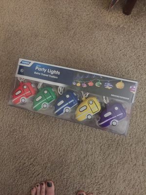 Retro travel trailers party lights camco indoor/outdoor new vintage style traveler for Sale in Las Vegas, NV