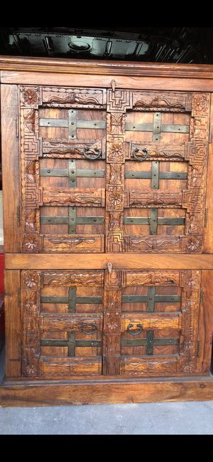 Antique Indian armoire for Sale in Henderson, CO