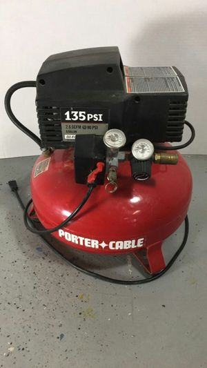 Porter cable pancake air compressor for Sale in Columbus, OH