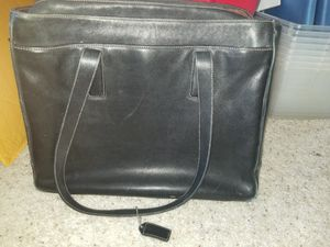 Leather Coach Laptop Bag for Sale in Thornton, CO