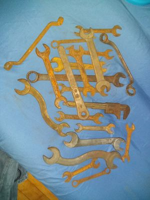 Old mechanic wrenches for Sale in Eau Claire, WI