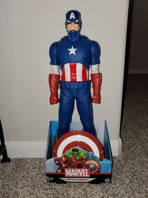 "20"" Captain America Figure for Sale in Houston, TX"