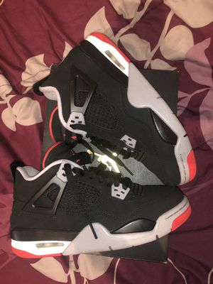 Retro Air Jordan 4 Bred 4.5Y for Sale in The Bronx, NY