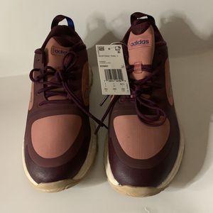 Adidas Womens Response Trail X Running Shoes Maroon Red Sneakers EE9963 8.5 New for Sale in Sacramento, CA