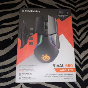 SteelSeries Rival 650 Wireless Mouse (New) Sealed for Sale in Long Beach, CA