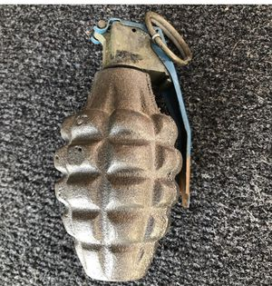 VINTAGE DRILLED BOTTOM HAND GRENADE GREAT DISPLAY / COLLECTION PIECE for Sale in Long Beach, CA