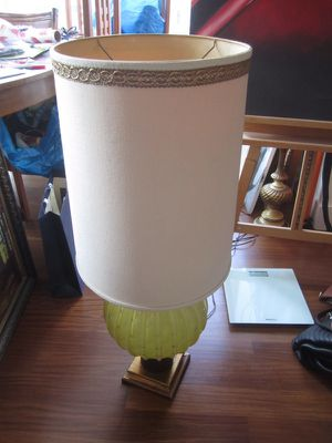 Stunning vintage tall glass lamp for Sale in New York, NY