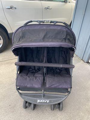 Joovy double side by side stroller black for Sale in Orange, CA