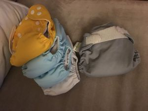 Newborn cloth diapers for Sale in Wichita, KS