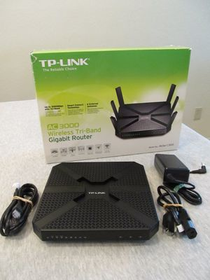 TP-Link AC3200 Tri-Band WiFi Router model C3200 for Sale in Scottsdale, AZ