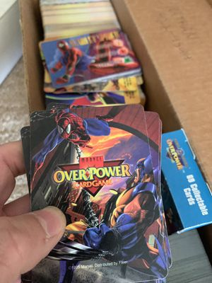 Over power board game cards for Sale in Pittsburgh, PA