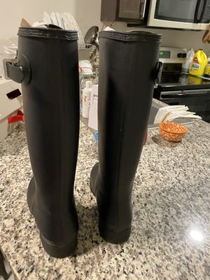 Hunter long rain boots,us6 for Sale in Lowell, MA