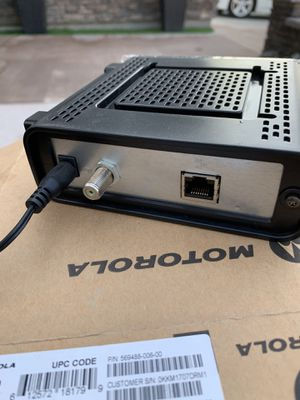 Motorola modem for Sale in Westminster, CA
