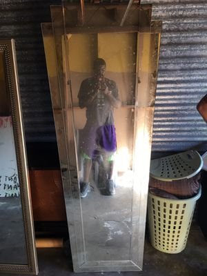 Full length mirror (very heavy) for Sale in Tampa, FL