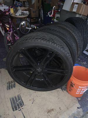 Versante 26in rims & tires for Sale in Anaheim, CA