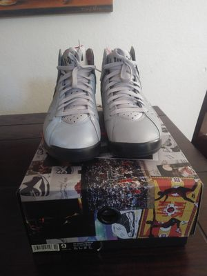 Jordan Retro 7 Reflective men size 9 Vnds for Sale in March Air Reserve Base, CA