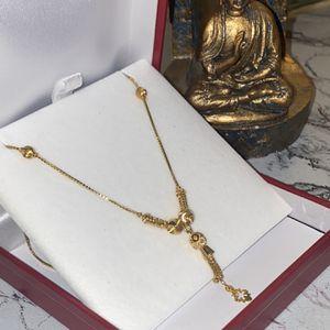 22K Gold Vintage Necklace Certificated for Sale in Newark, NJ