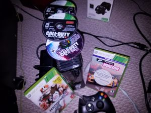 Xbox 360 Slim 250gb Huge Bundle w/ Controllers Games Headset for Sale for sale  Gurnee, IL
