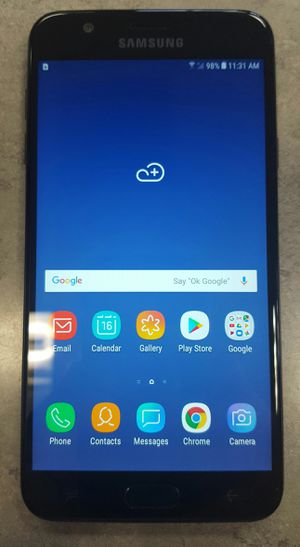 Verizon Samsung Galaxy J7 2018 16gb Black Android Smart Cell Phone for Sale in Vancouver, WA