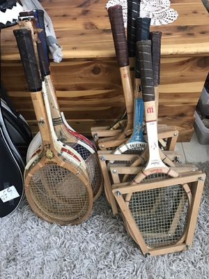 Tennis Rackets Vintage for Sale in Henderson, NV