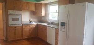 Kitchen cabinets and appliances with out fridge for Sale in Cherry Hill, NJ