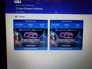 Cirque dream holidaze for Sale in Detroit, MI
