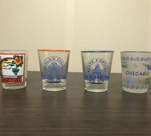 Collectible American City/State Shot Glasses for Sale in Santa Fe Springs, CA