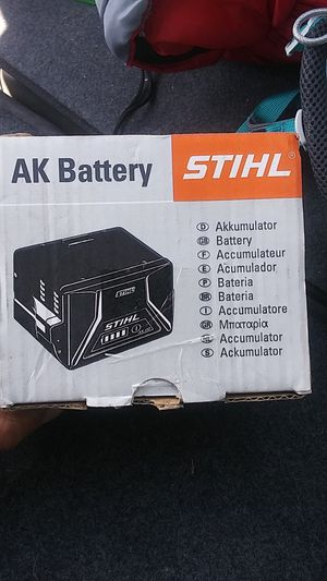 Brandnew Stihl power tools ak.30 battery for Sale in Eugene, OR