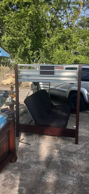 Metal bunk bed Full size for Sale in Houston, TX