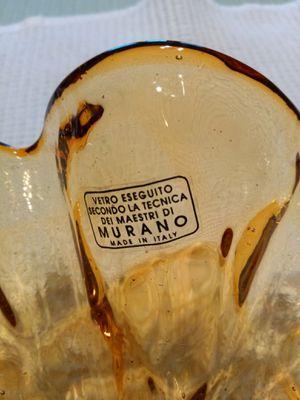 Murano glass bowl made in Italy for Sale in Ypsilanti, MI