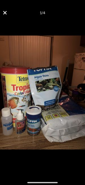 FREE fish food and fish tank supplies for Sale in Inglewood, CA