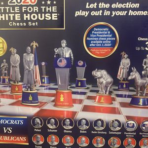 Chess Set ** Race for the White House** Trump/Biden for Sale in Haines City, FL
