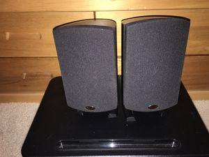 Klipsch Quintet 2.0 bookshelf surround speakers mini for Sale in San Jose, CA