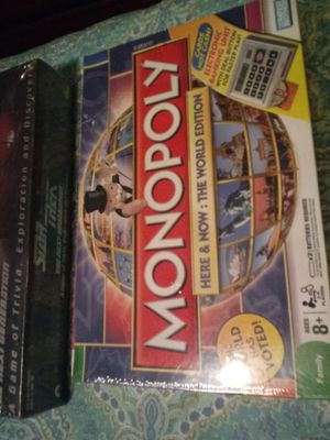 Electronic monopoly board game new for Sale in Saint CLR SHORES, MI