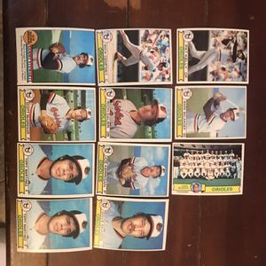 Topps Orioles 1979 Baseball Cards for Sale in St. Charles, IL