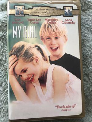 OBO MY GIRL VHS for Sale in Wichita, KS
