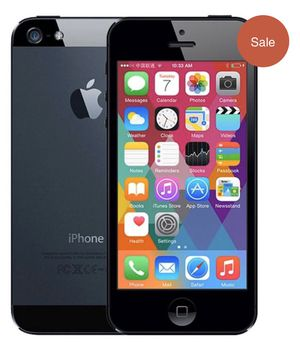 Originally UNLOCK from Apple iPhone 5 for Sale in West Springfield, VA