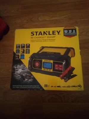 Stanley battery charger for Sale in Fairburn, GA