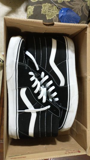 """Black vans size 11"""" for Sale in The Bronx, NY"""