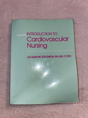 CardioVascular Nursing Book for Sale in Poway, CA